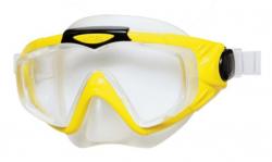 Intex Potápačské okuliare silikónové panoramatické Žlté 55981