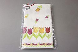 Makro 75627 Obrus veľk. 80x80cm tulipány