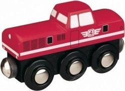 Maxim Dieselová lokomotíva červená 50815