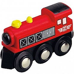Maxim Parná lokomotíva červená 50399