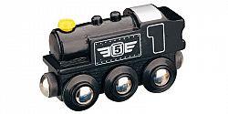 Maxim Parná lokomotíva čierna 50816