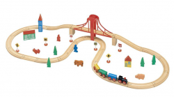Maxim Vláčiková dráha s veľkým mostom 50107