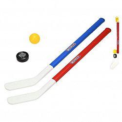 MIKRO -  Hokejka 71cm 2ks s loptičkou a pukom 33262
