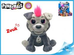 MIKRO -  Punkymals zvieratko IGGY 18cm na batérie 94480