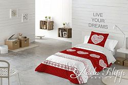 Posteľné obliečky Lily red 8581305911496