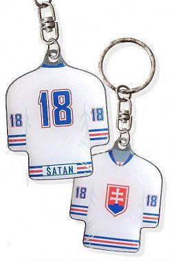 Prívesok na kľúče Šatan dres