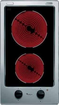 Whirlpool AKT 315/IX nerez + čierna