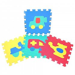 Wiky Mäkké puzzle bloky dopravné prostriedky 30cm 118629