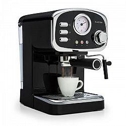 Klarstein Espressionata Gusto, espresso kávovar, 1100 W, tlak 15 bar, čierny