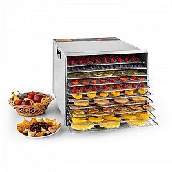 Klarstein Fruit Jerky Steel 10, 1000 W, sušička, dehydrátor, 10 poschodí, nerezová oceľ