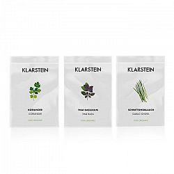 Klarstein GrowIt Seeds Asia, 3 balíčky semien: koriander, bazalka thajská, cesnaková pažítka