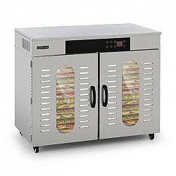 Klarstein Master Jerky 500, sušička potravín, 3000 W, 40 – 90 °C, 24 hod. časovač, ušľachtilá oceľ, strieborná