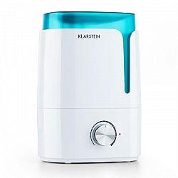 Klarstein Stavanger, zvlhčovač vzduchu, aromatická funkcia, ultrazvuk, 3.5 l, biely/tyrkysový