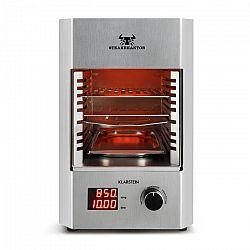 Klarstein Steakreaktor 2.0 – Stainless Steel Edition, interiérový gril, 1600 W, 850 °C