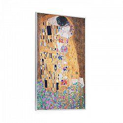 Klarstein Wonderwall Air Art Kuss, infračervený ohrievač, 60 x 101 cm, 600 W, nástenná montáž