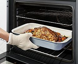 Magnet 3Pagen 1 pár kuchynských rukavíc prírodná