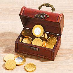 Magnet 3Pagen Pokladnica s čokoládovými mincami