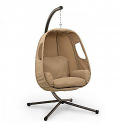 Blumfeldt Bella Donna, hojdacie kreslo závesné, vankúš na sedenie, 180 g polyester, béžové