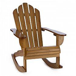 Blumfeldt Rushmore, záhradná stolička, hojdacie kreslo, adirondack, 71 x 95 x 105 cm, hnedá