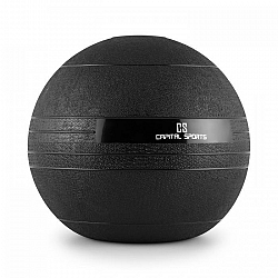 Capital Sports Groundcracker, čierny, 25 kg, slamball, guma