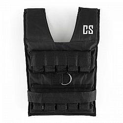 Capital Sports Monstervest, 20 kg, čierna, záťažová vesta, kovové závažia