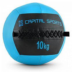 Capital Sports Wallba 10, tmavomodrý, 10 kg, wall ball, syntetická koža