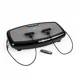 Klarfit Vib 1000 vibračná plošina, 5 režimov, nastaviteľná dĺžka trvania a intenzita, čierna farba