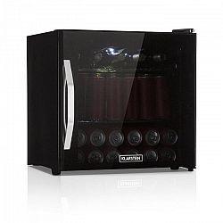 Klarstein Beersafe L Onyx, chladnička na nápoje, A+, LED, kovové rošty, sklenené dvere, čierna