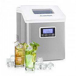 Klarstein Clearcube LCD, výrobník ľadu, priehľadný ľad, 15 – 20 kg/24 hod., biely