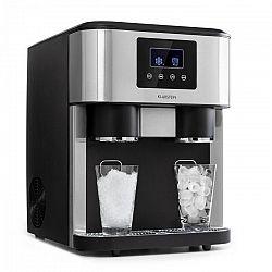 Klarstein Eiszeit Crush, výrobník ľadu, 2 veľkosti, drvený ľad, strieborný