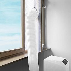 Klarstein Tesnenie okien pre mobilné klimatizácie, 3.9 m, zips, upínacia páska