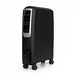 Klarstein Thermaxx Noir, olejový radiátor, 2500 W, 10 – 30 °C, 24-hod. časovač, diaľkový ovládač, čierny