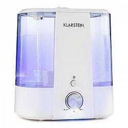 Klarstein Toledo, ultrazvukový zvlhčovač vzduchu, aróma difuzér, 6 l, LED svetlo, biely