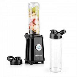 Klarstein Tuttifrutti, čierny, mini mixér, 350 W, 800 ml, krížové čepele, bez BPA