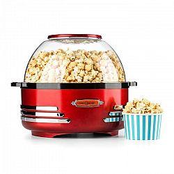 OneConcept Couchpotato, červený, popcornovač, elektrické zariadenie na prípravu popcornu