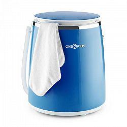 OneConcept Ecowash-Pico, modrá, mini práčka, funkcia žmýkania, 3,5 kg, 380 W