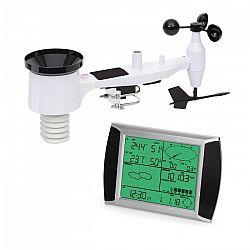 Waldbeck Kopernikus, meteorologická stanica, bezdrôtová, LCD dotykový displej, vnútorné a vonkajšie zariadenie, biela