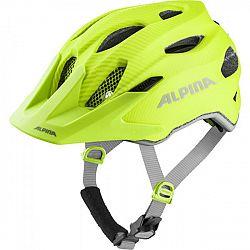 Alpina Sports CARAPAX JR FLASH žltá (51 - 56) - Detská cyklistická prilba