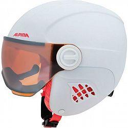 Alpina Sports CARAT LE VISOR - Detská lyžiarska prilba
