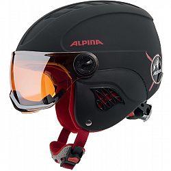 Alpina Sports CARAT LE VISOR HM - Detská lyžiarska prilba