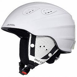 Alpina Sports GRAP 2.0 biela (57 - 61) - Lyžiarska prilba