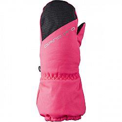 ALPINE PRO DGARO ružová 3 - Detské zimné rukavice