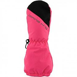 ALPINE PRO RAINERO ružová M - Detské rukavice