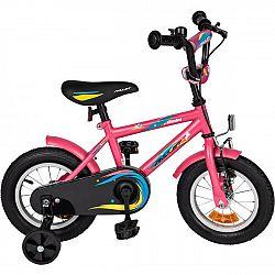 Amulet MINI 12 ružová NS - Detský bicykel