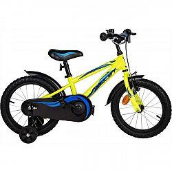 Amulet MINI 16 žltá NS - Detský bicykel
