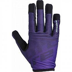 Arcore GECKO fialová L - Cyklistické rukavice