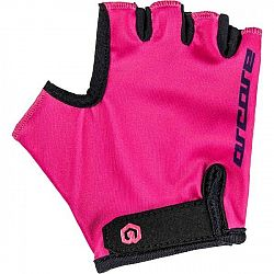 Arcore LUKE ružová 6 - Detské cyklistické rukavice