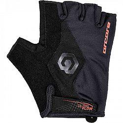 Arcore SOLO červená M - Krátkoprsté cyklistické rukavice