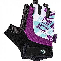 Arcore SPHINX fialová 8 - Detské cyklistické rukavice
