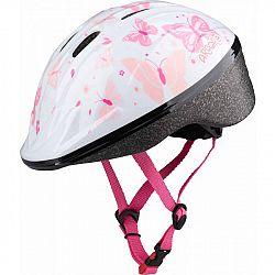 Arcore WAPI biela S - Dievčenská cyklistická prilba